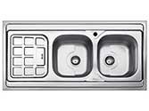 سینک ظرفشویی بیمکث روکار  مدل  510