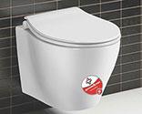 توالت فرنگی بومرنگ درجه1  مدل  2050