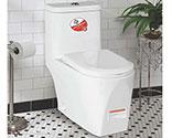 توالت فرنگی بومرنگ درجه1  مدل  2115