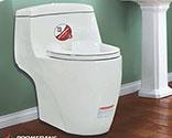 توالت فرنگی بومرنگ درجه1  مدل  2206