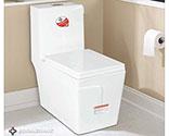 توالت فرنگی بومرنگ درجه1  مدل  T58