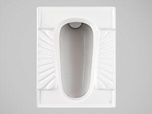 توالت ایرانی چینی کرد درجه1  مدل  اریکا طبی نیم گود ریم بسته