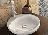 سنگ روشویی گلسار فارس درجه یک  مدل  GL10جاشیردار