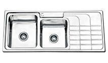 سینک ظرفشویی ارس توکار مدل AS04