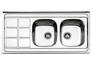 سینک ظرفشویی ارس روکار مدل AS08