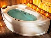 وان_و_جکوزی آریانا حمام مدل 701
