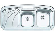 سینک ظرفشویی آروما توکار مدل 2103