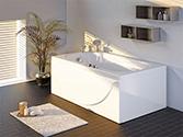 وان و جکوزی حمام باداب خانگی مدل 001