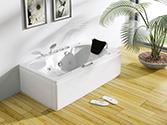 وان و جکوزی حمام باداب خانگی مدل 108