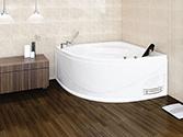 وان و جکوزی حمام باداب خانگی مدل 204