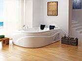 وان و جکوزی حمام باداب خانگی مدل 301