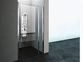 پارتیشن دوش حمام باداب خانگی مدل T