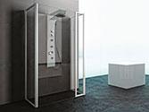 پارتیشن دوش حمام باداب خانگی مدل U