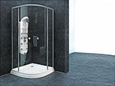 پارتیشن دوش حمام باداب خانگی مدل Rectangle