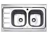 سینک ظرفشویی بیمکث روکار مدل 516
