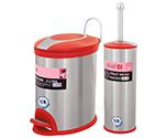 سطل و برس دستشویی و حمام سطل و برس مدل 005R
