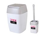 سطل و برس دستشویی و حمام سطل و برس مدل 1900WS