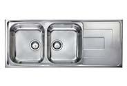 سینک ظرفشویی لامیرا توکار مدل Como116502V